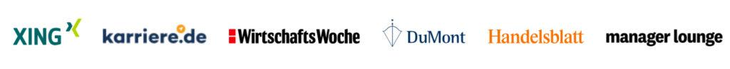 Logos unserer Partner bei CV COACH